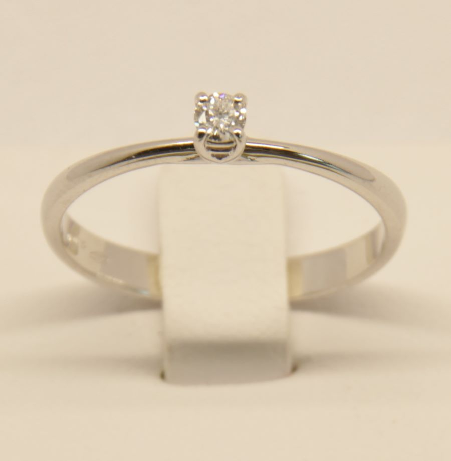 Anello oro bianco Deil Joseph A014 EC15