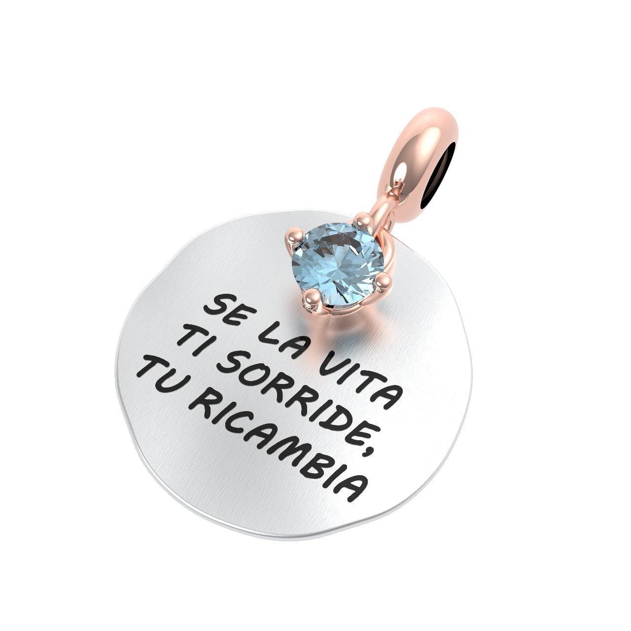 Ciondolo argento Rerum 25127 propositi