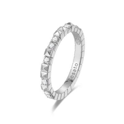 Rosato anello cubica RZA011 C