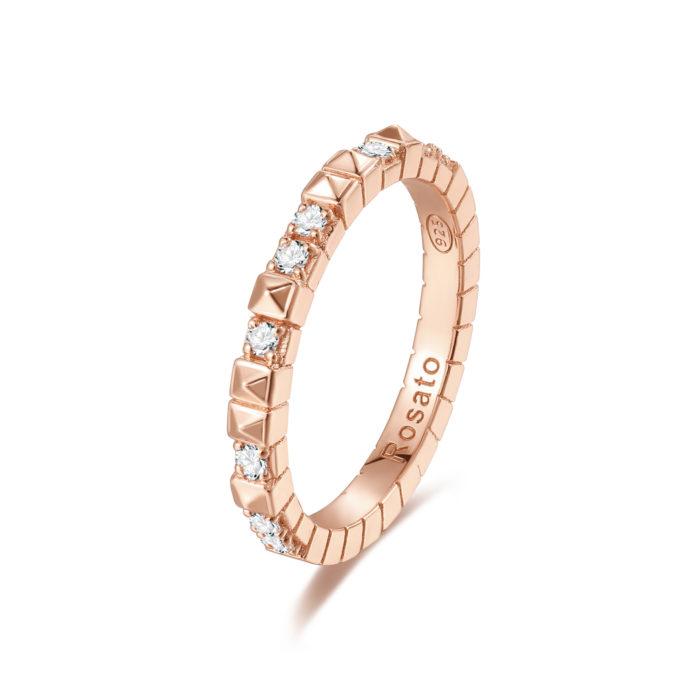 Rosato anello cubica RZA012 B