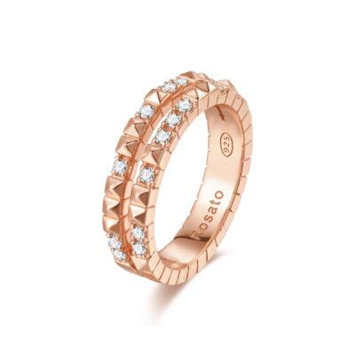 Rosato anello cubica RZA014 A