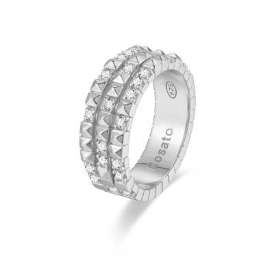 Rosato anello cubica RZA015 B
