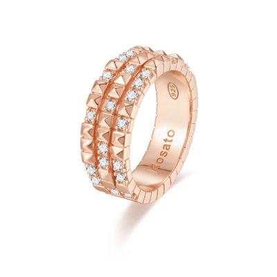 Rosato anello cubica RZA016 C