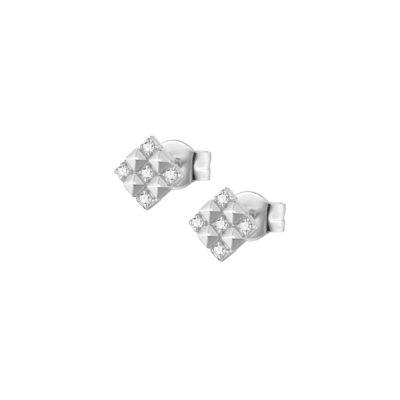 Rosato orecchini cubica RZO038