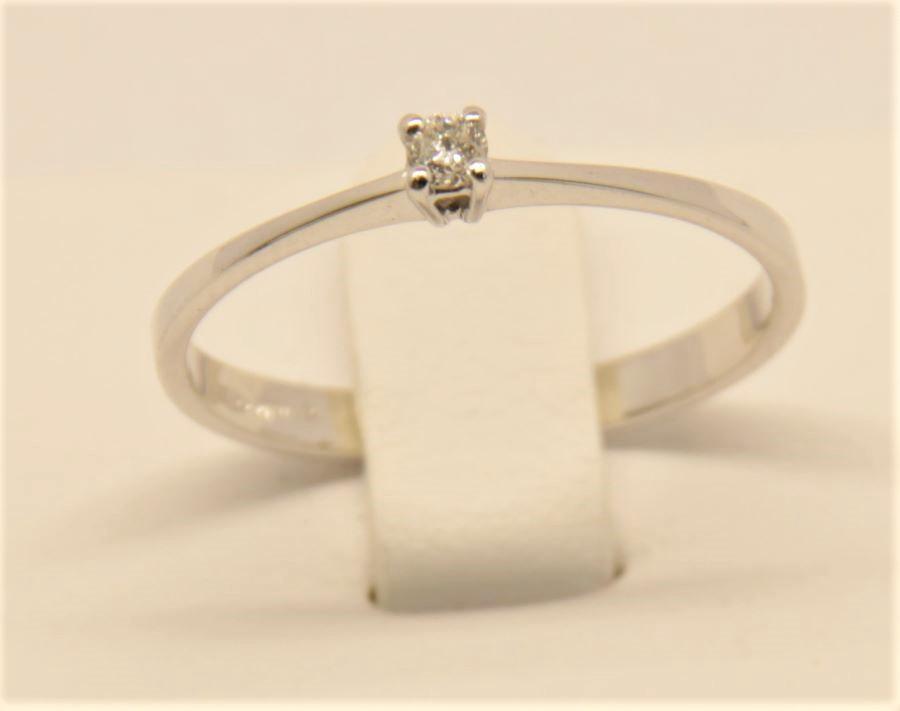 Anello oro bianco Deil Joseph A005 EC2