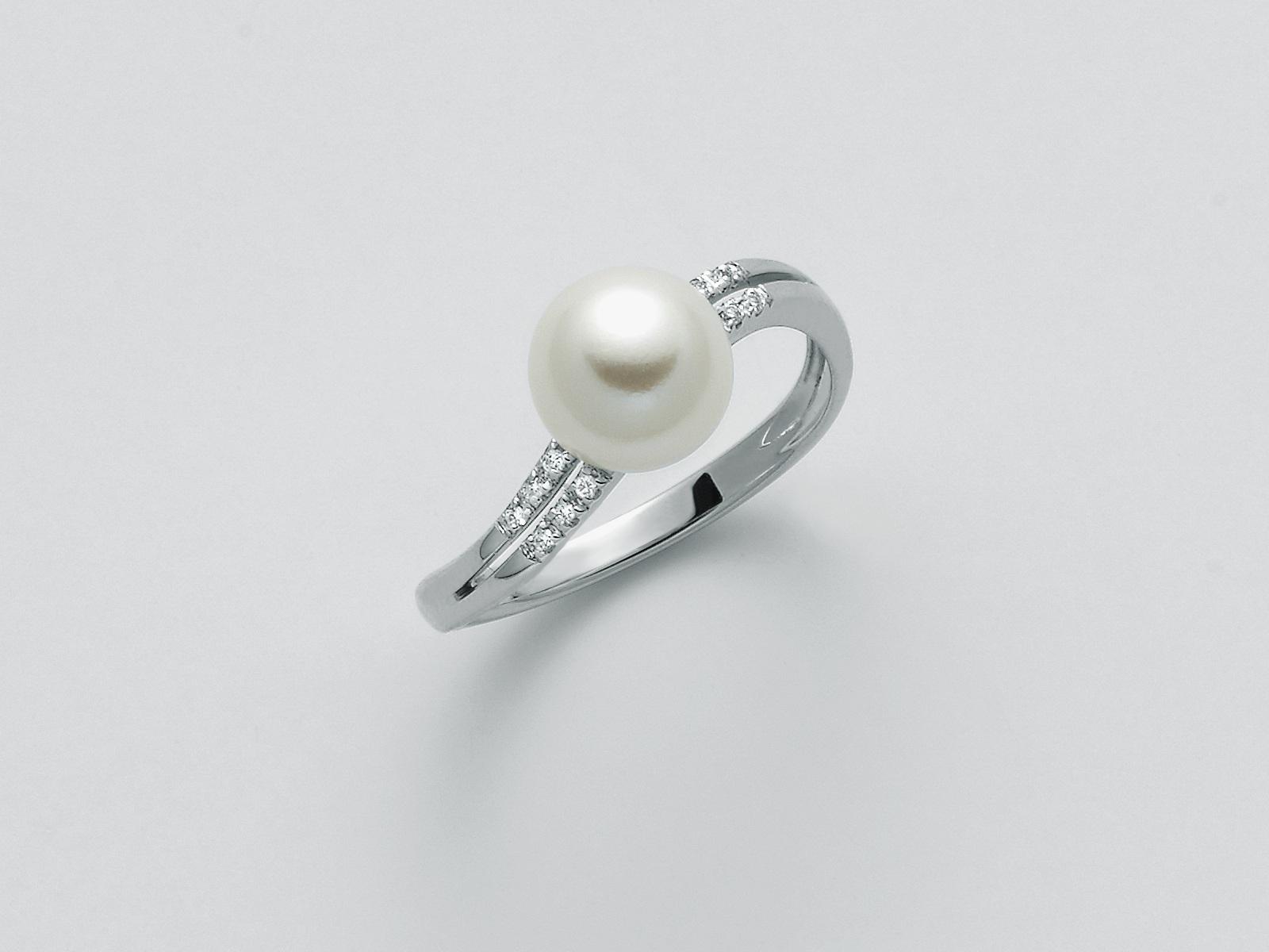Anello perla Miluna PLI1597