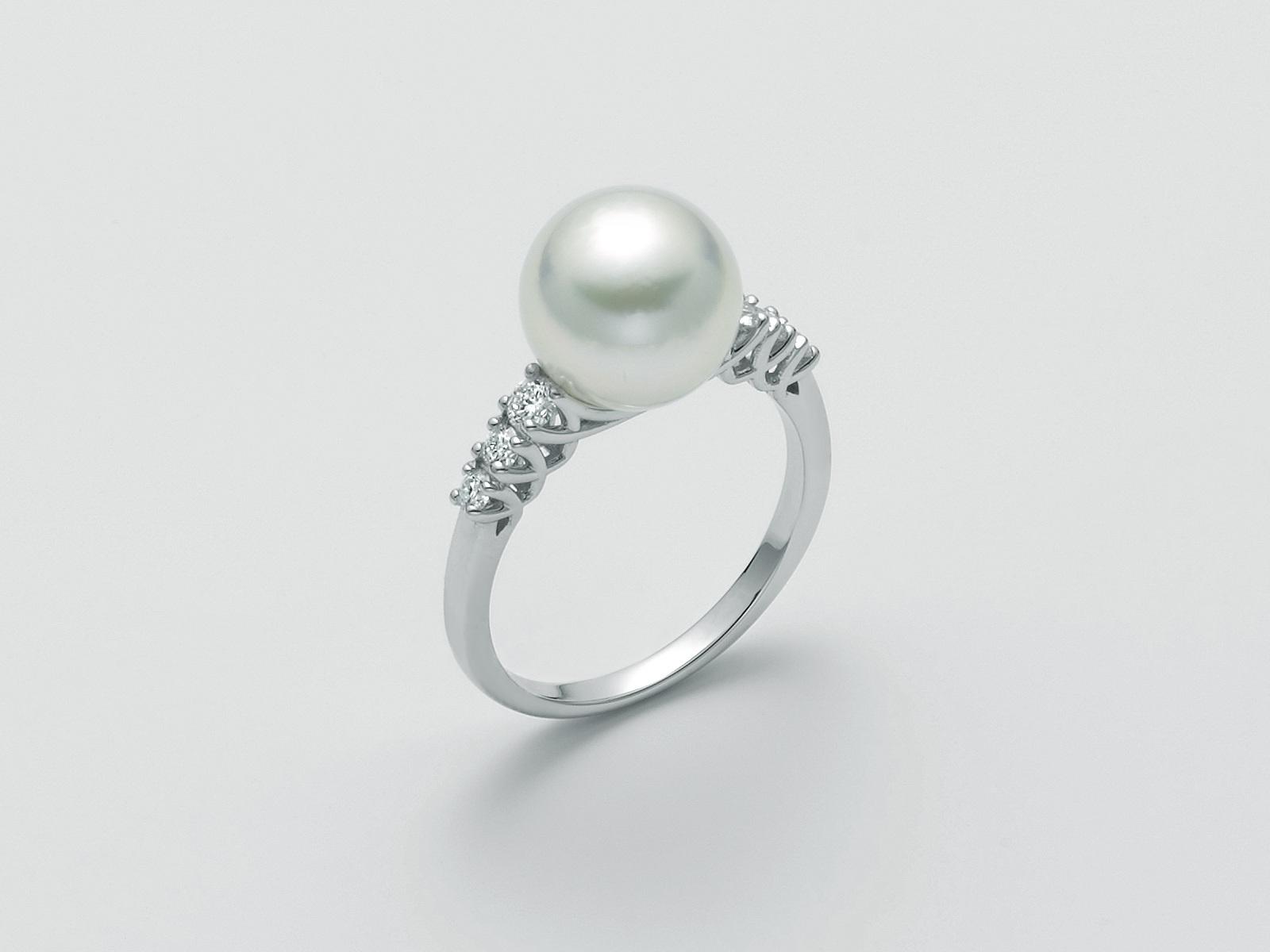 Anello perla Miluna PLI1620 A