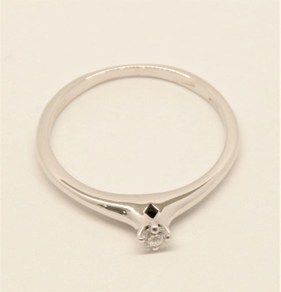 Anello solitario Polello E3022 B