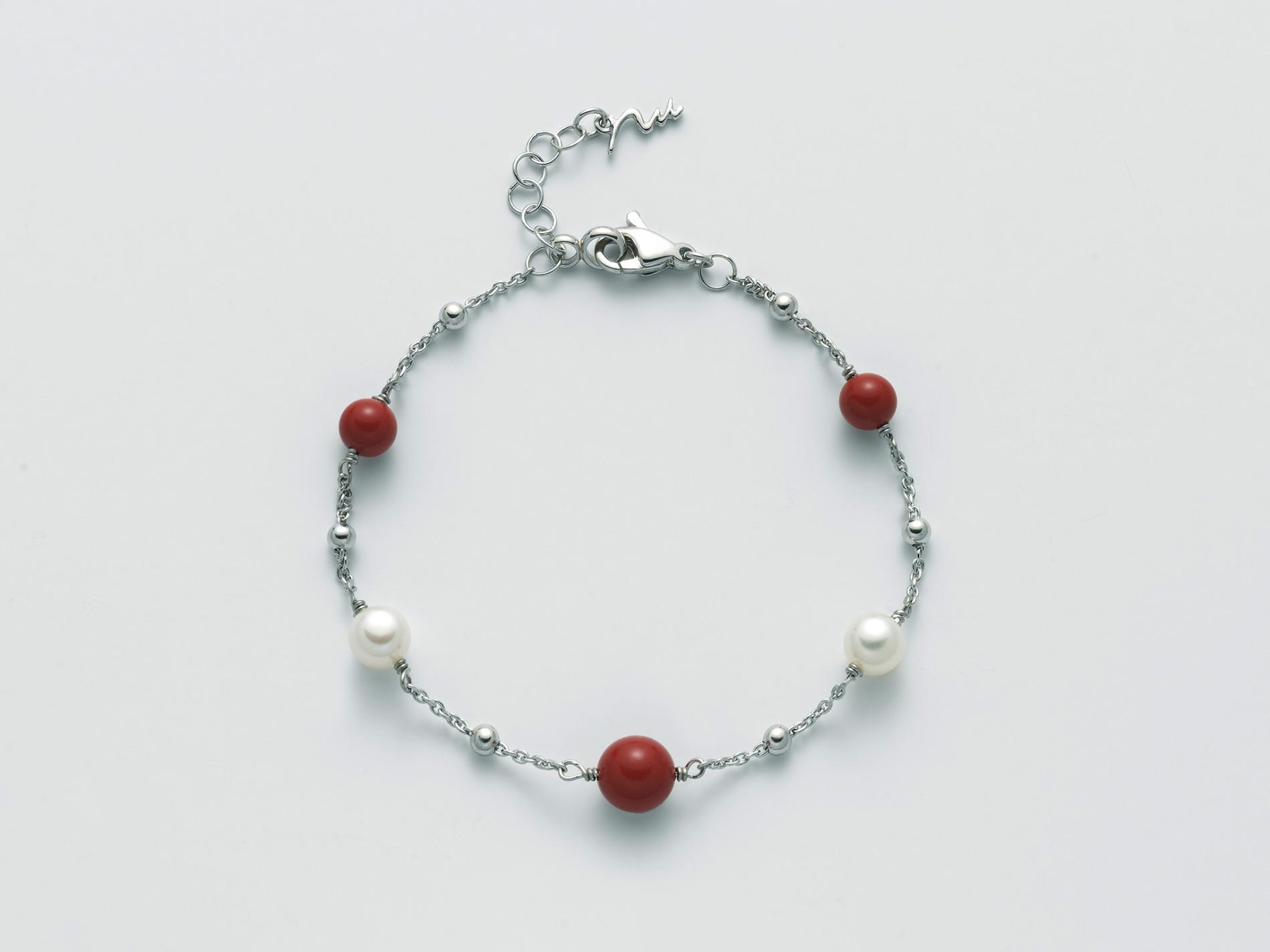 Bracciale argento Miluna PBR3017