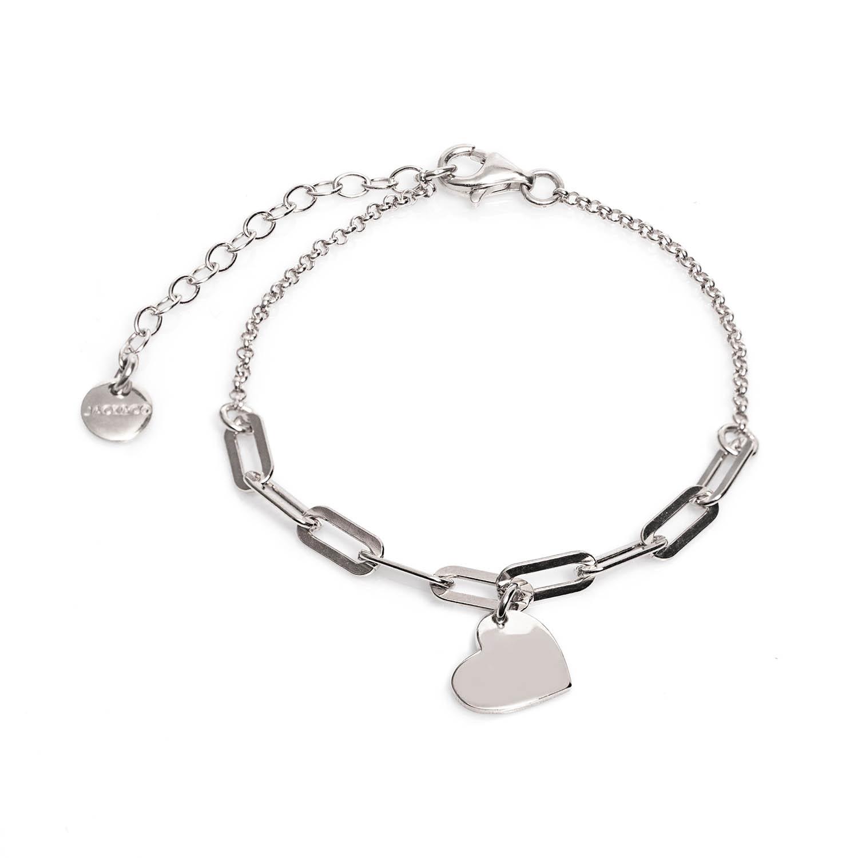 Bracciale argento jackco JCB1864
