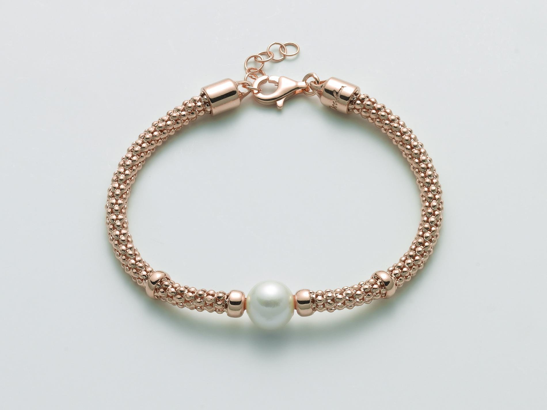 Bracciale argento rosato PBR3026 R