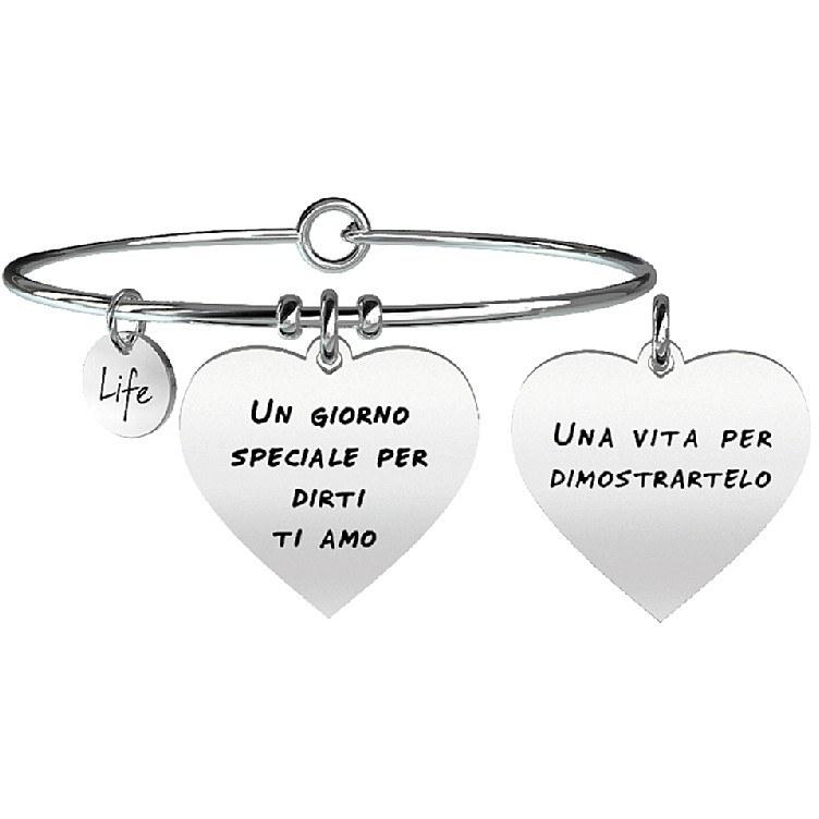 Bracciale donna gioielli kidult love 731097