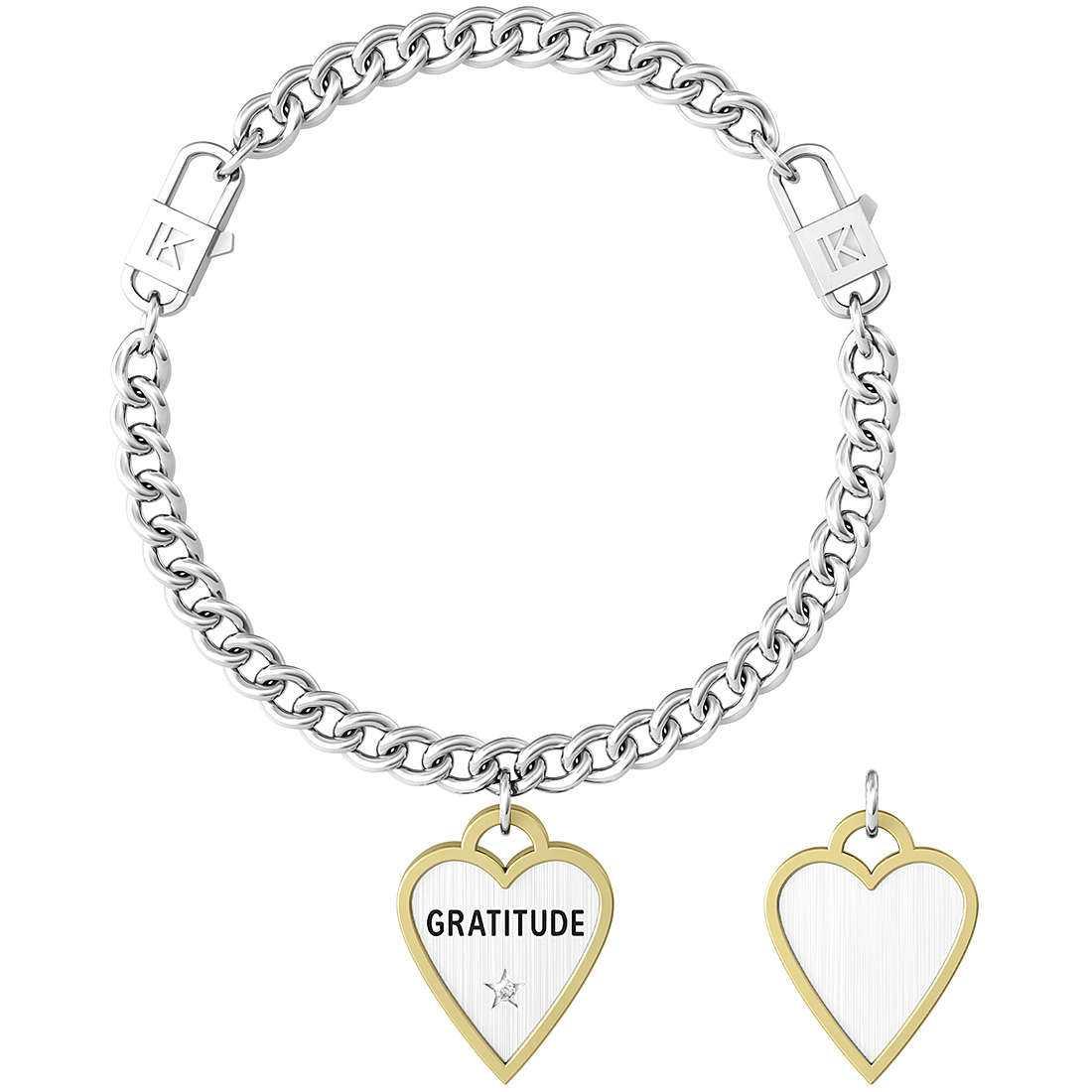 Bracciale donna gioielli kidult love 731940