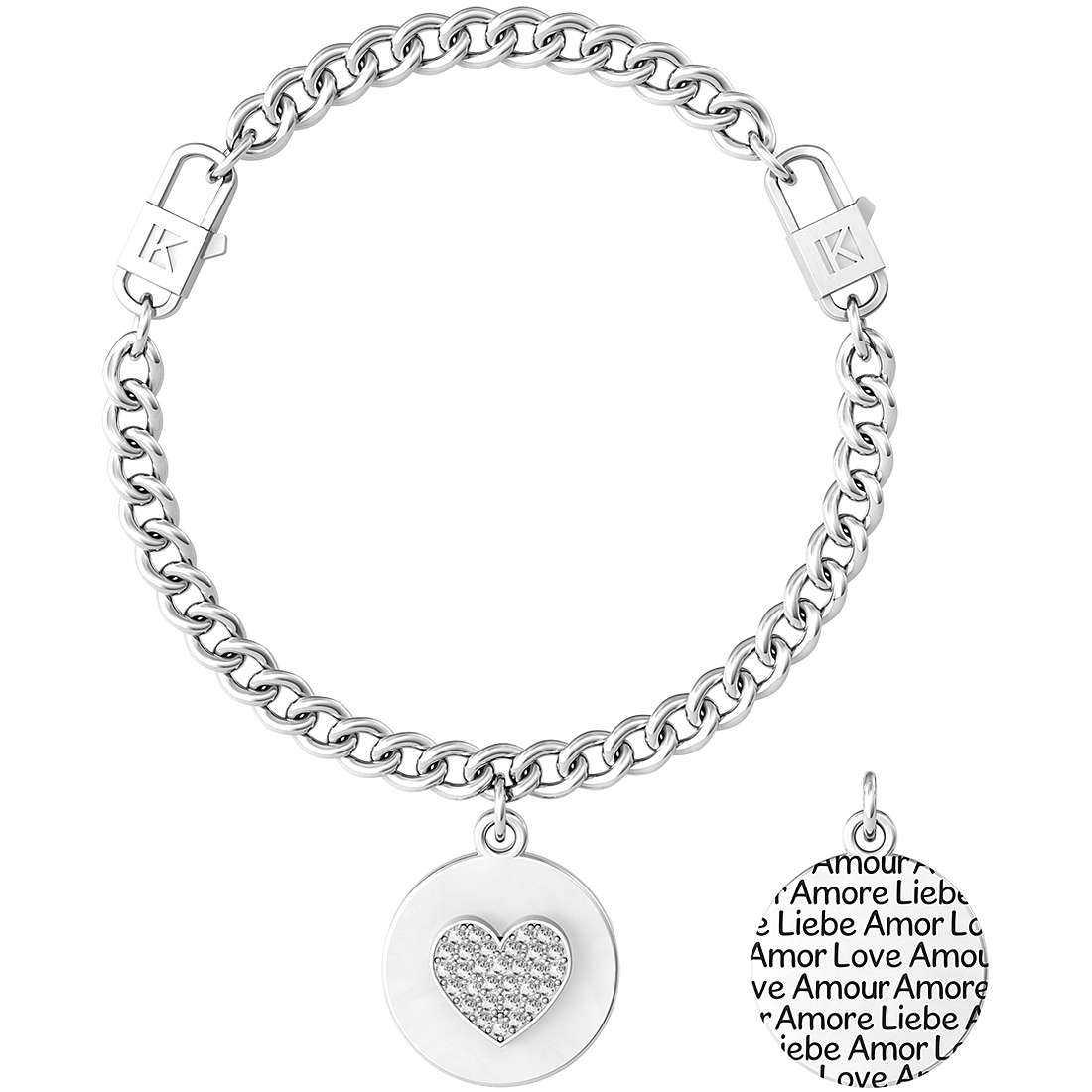 Bracciale donna gioielli kidult love 731968