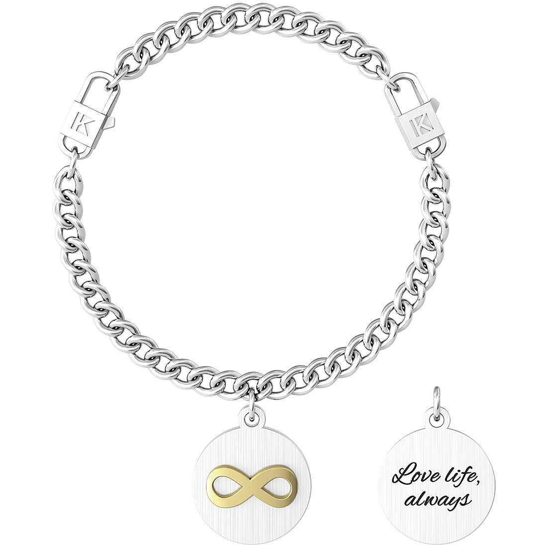 Bracciale donna gioielli kidult symbols 731965
