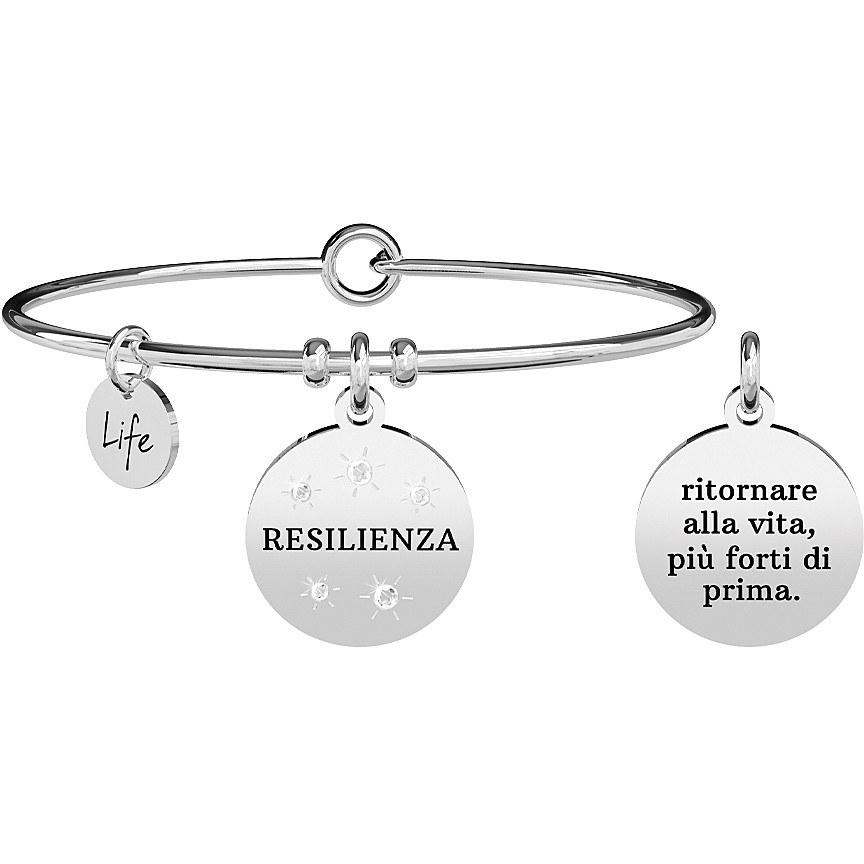 Bracciale donna kidult philosopy resilienza 731869