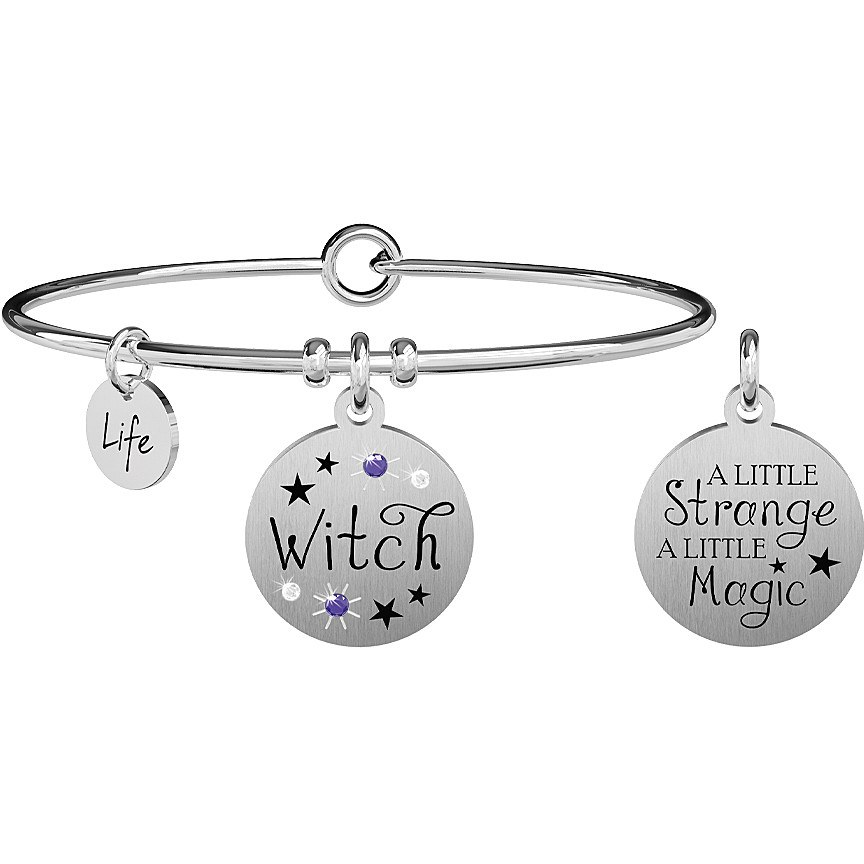 Bracciale donna kidult symbols witch 731867