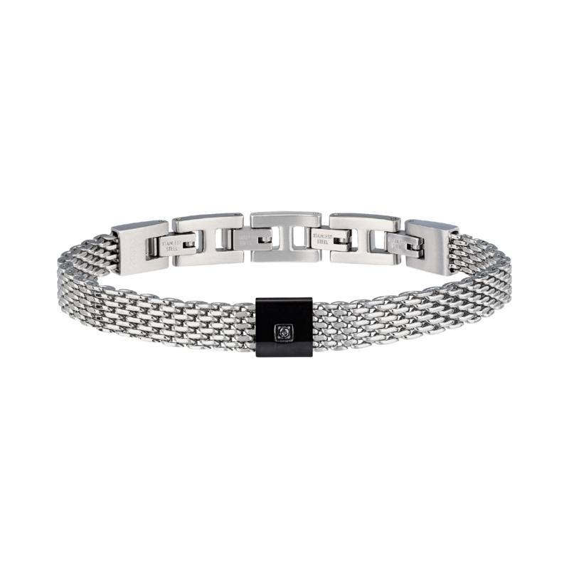 Bracciale uomo breil TJ2955 black diamond