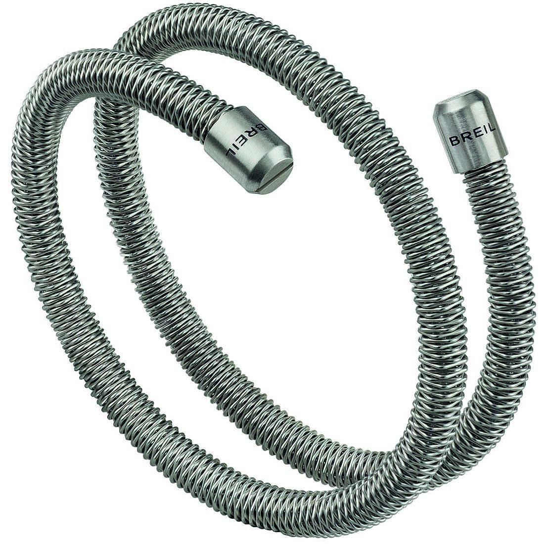 Bracciale uomo gioielli breil new snake tj2790