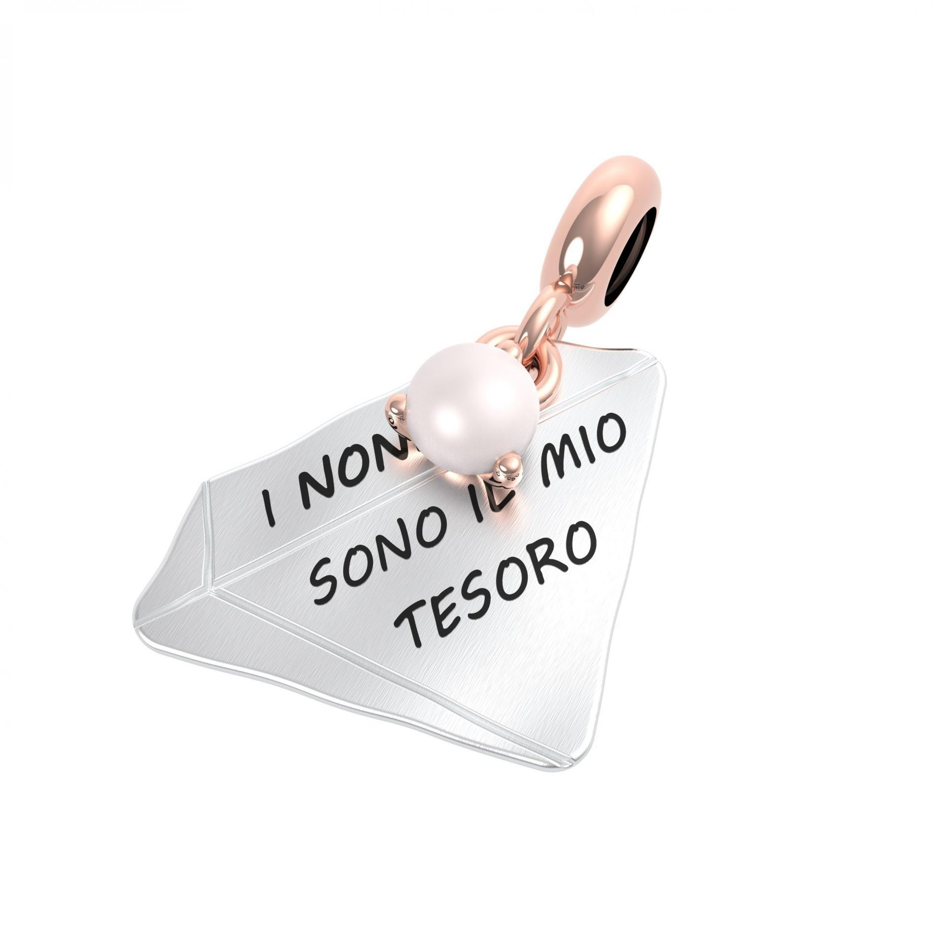 Ciondolo argento rerum 25069 famiglia