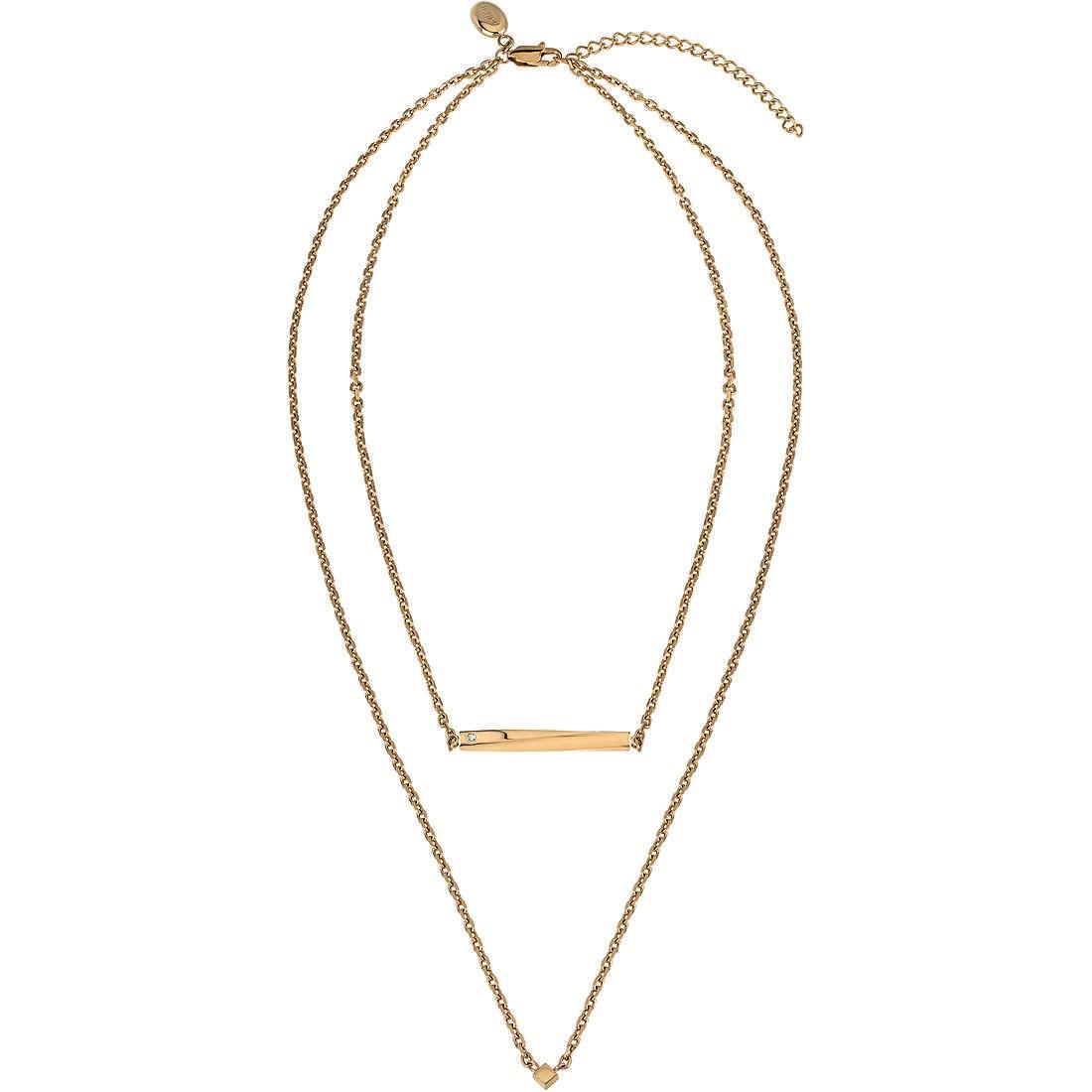 Collana donna gioielli breil b essential tj3010