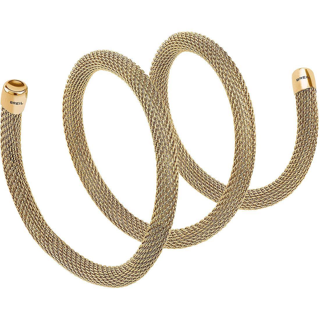 Collana donna gioielli breil new snake tj2712