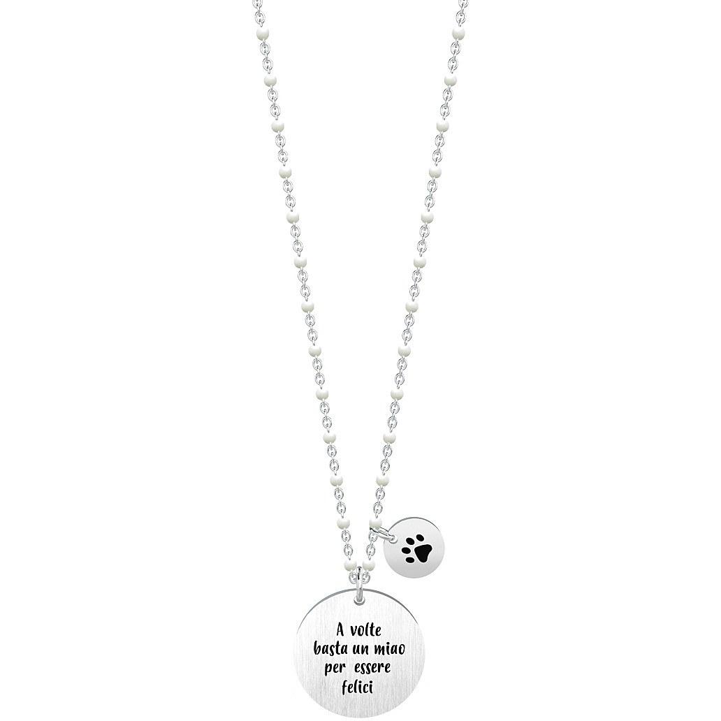 Collana donna gioielli kidult animal planet 751028