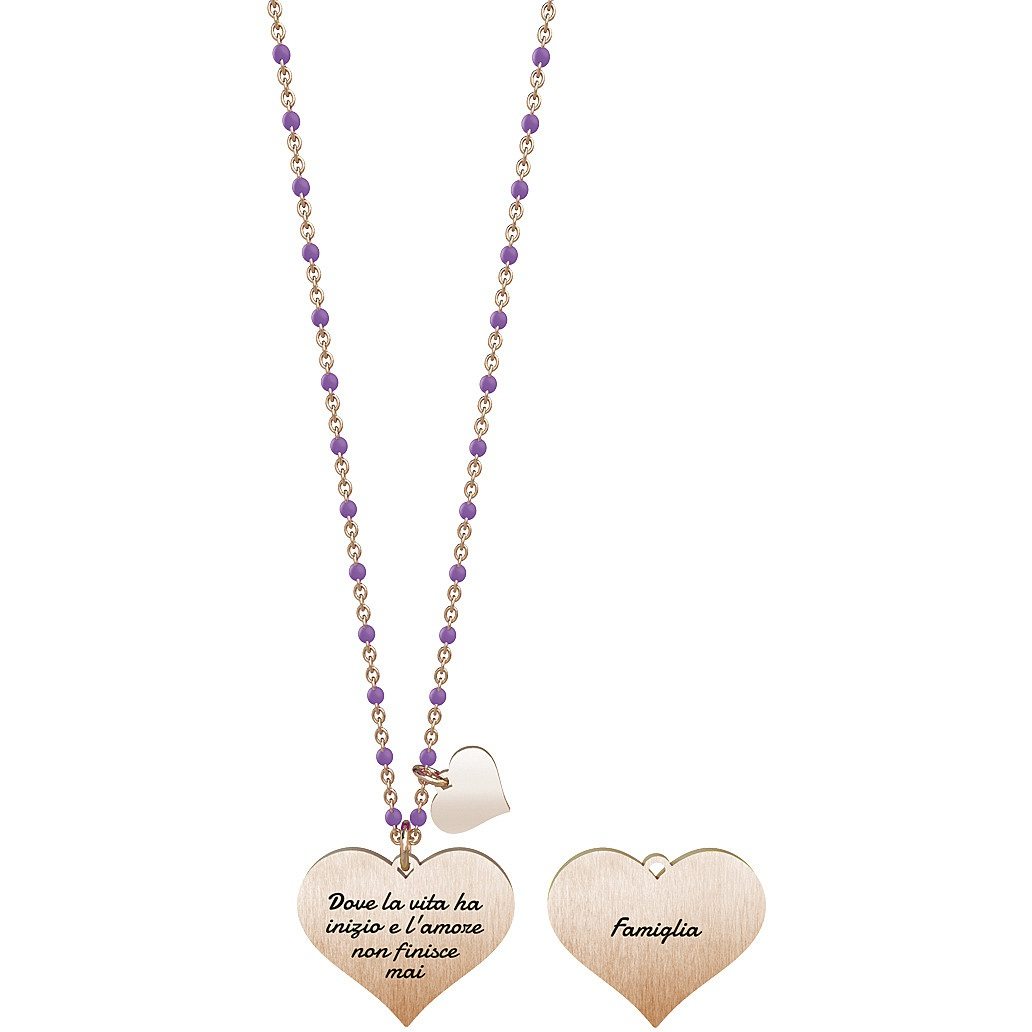 Collana donna gioielli kidult family 751042