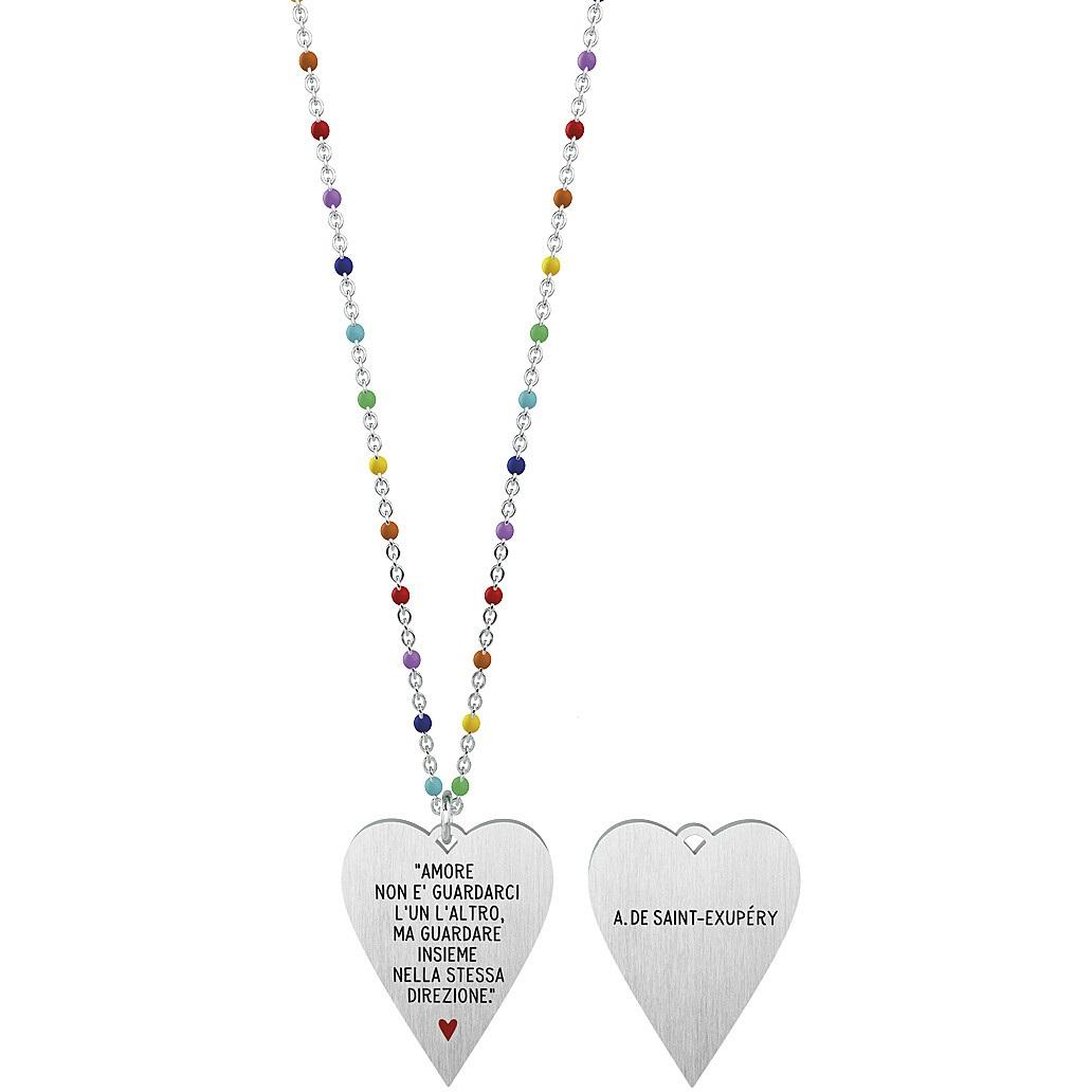 Collana donna gioielli kidult love 751015