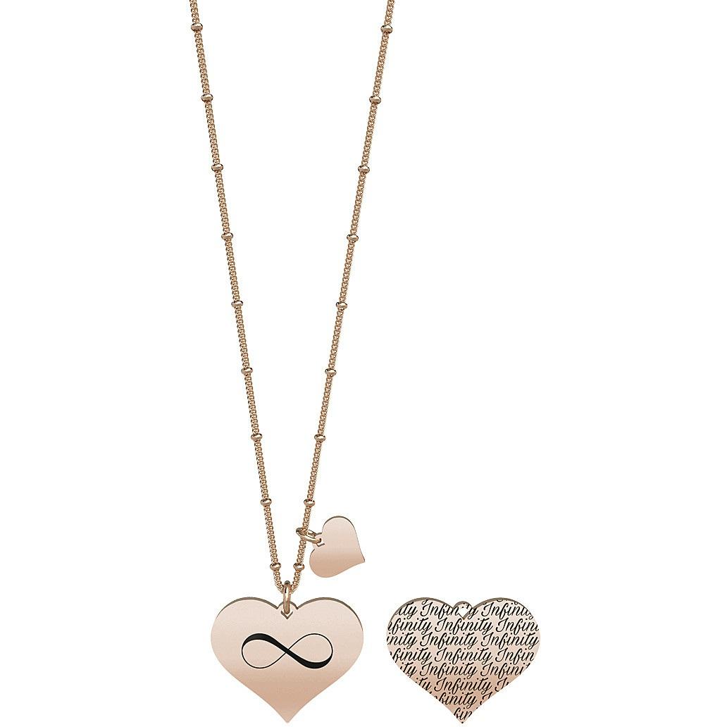 Collana donna gioielli kidult love 751123