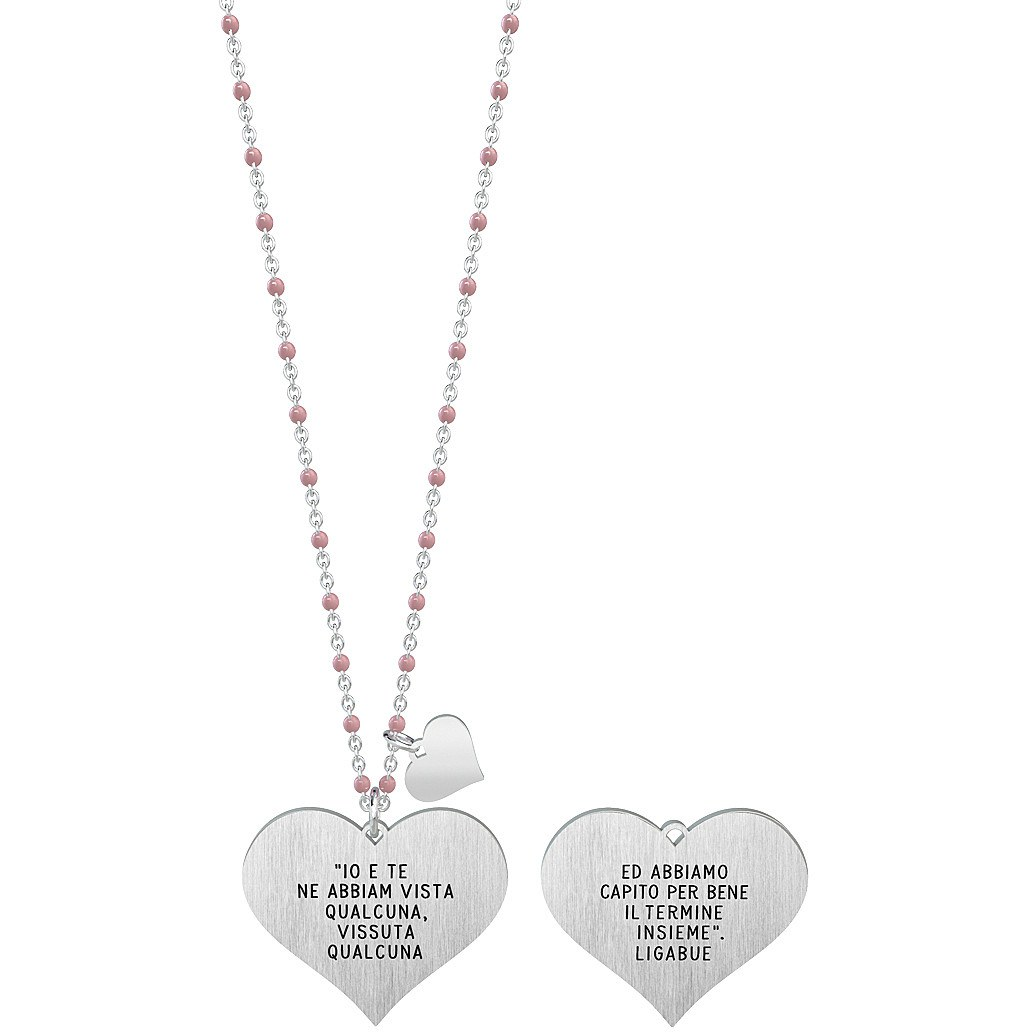 Collana donna gioielli kidult love 751141