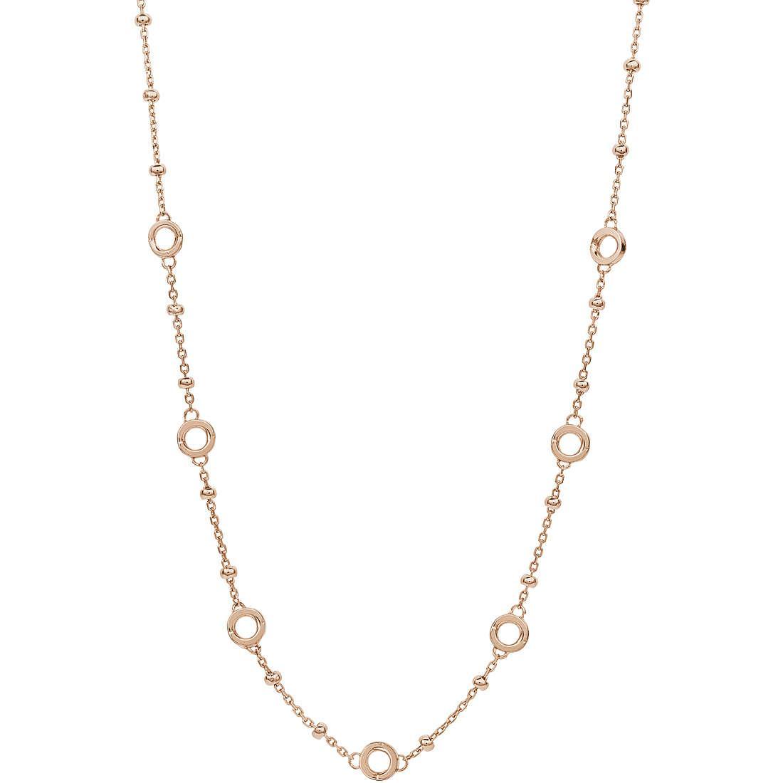 Collana donna gioielli rosato storie rzc011