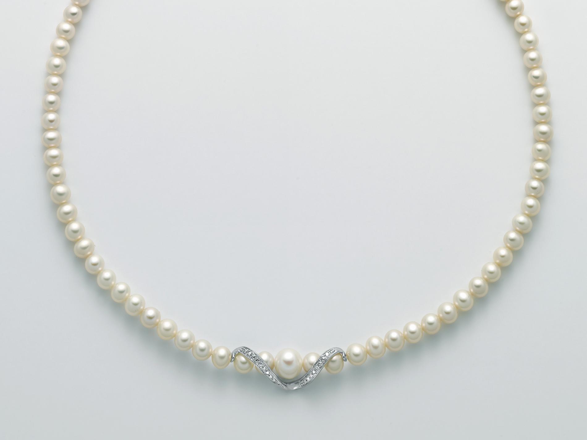 Collana filo perle Miluna PCL5531