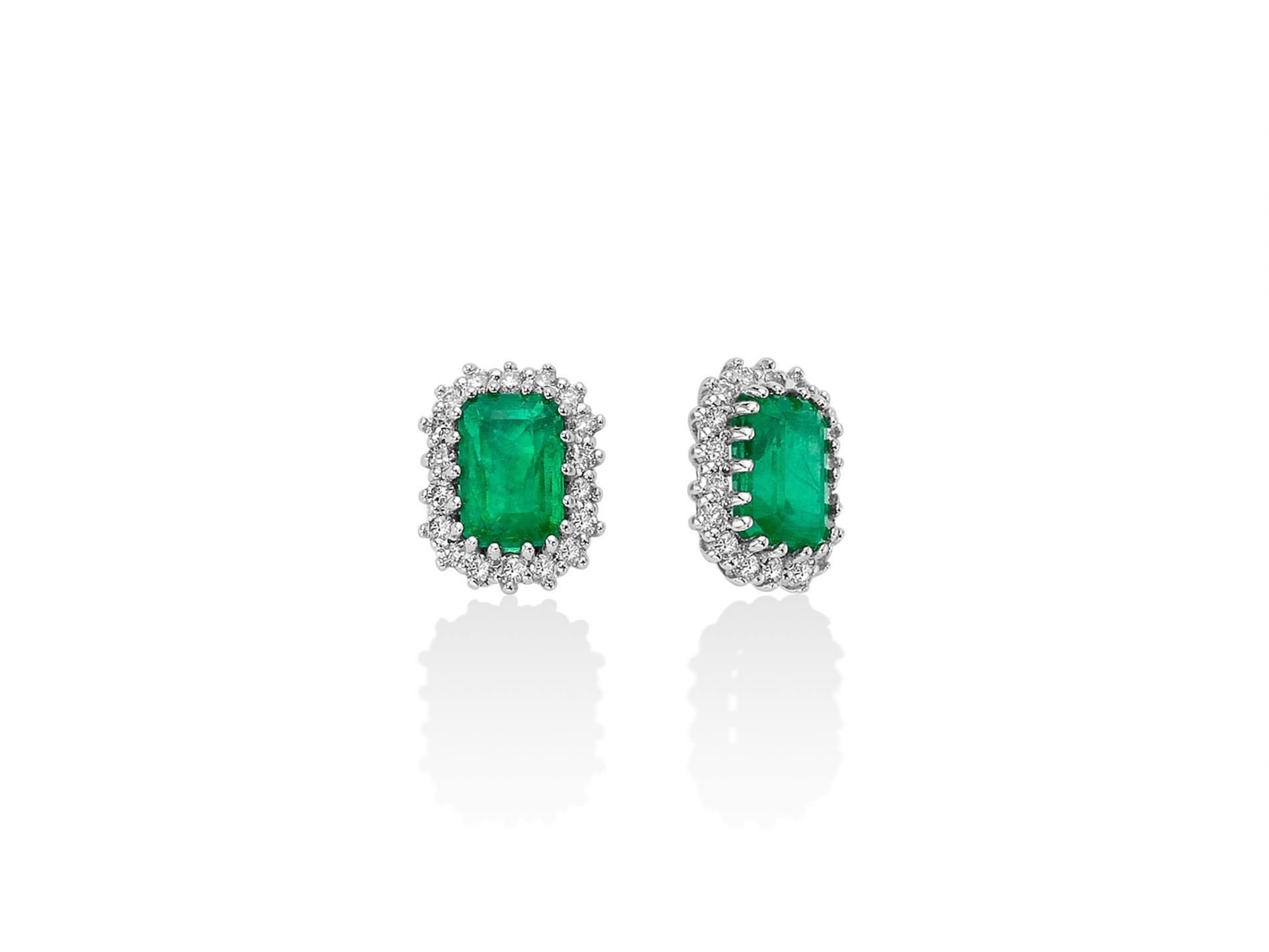 Orecchini miluna smeraldi ERD2496