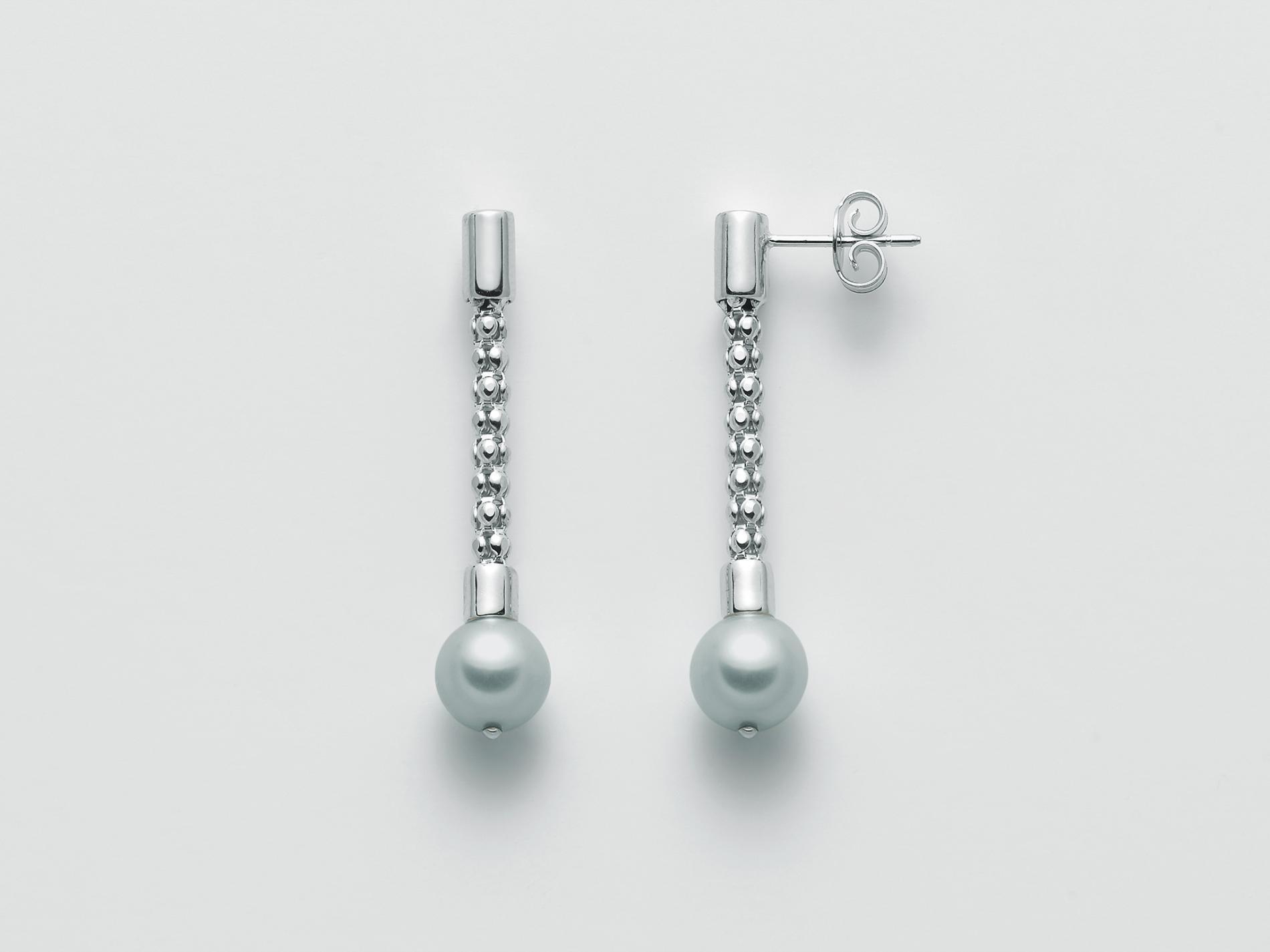 Orecchini pendenti argento Miluna PER2410