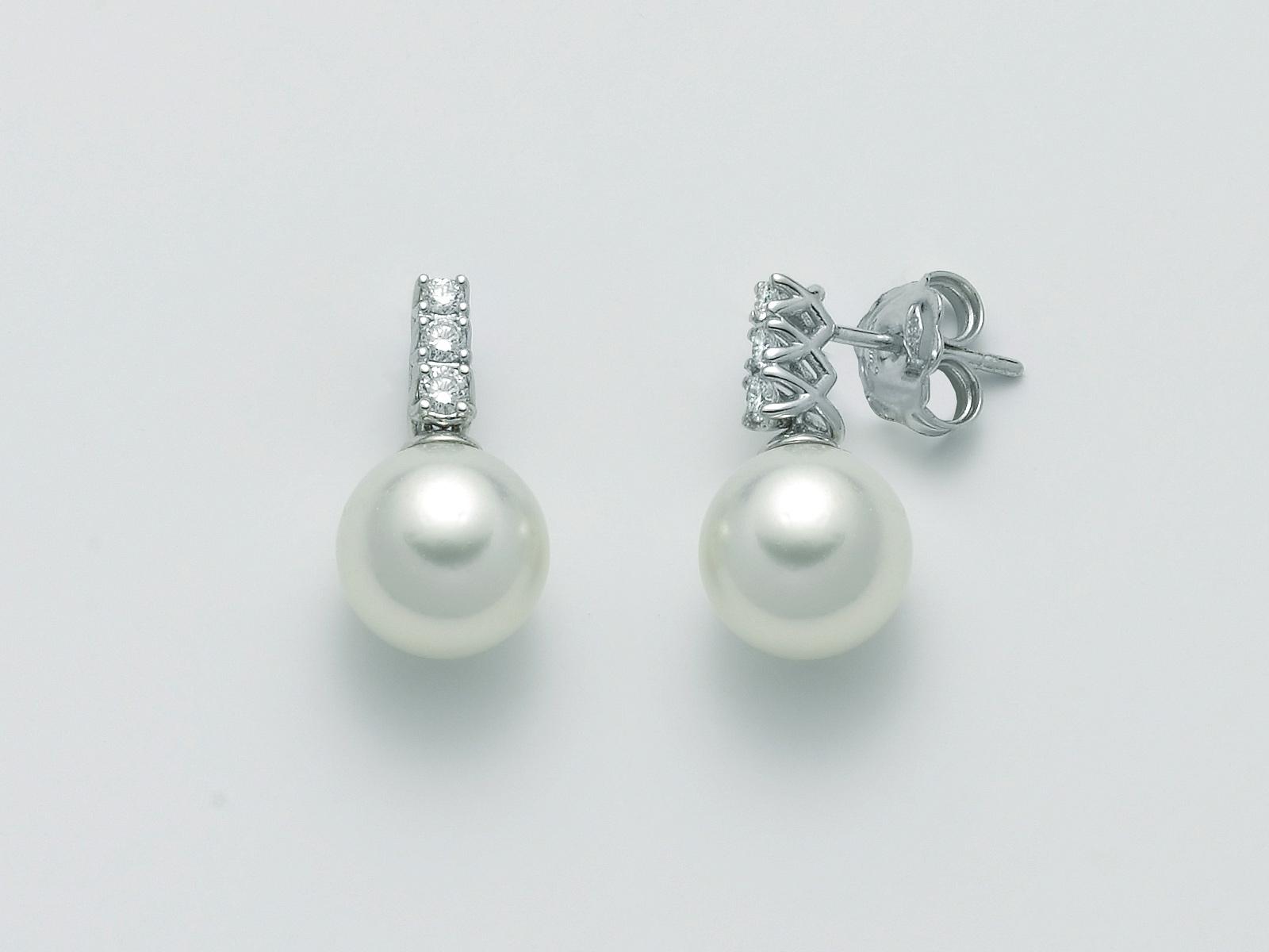 Orecchini perle Miluna PER2366 A