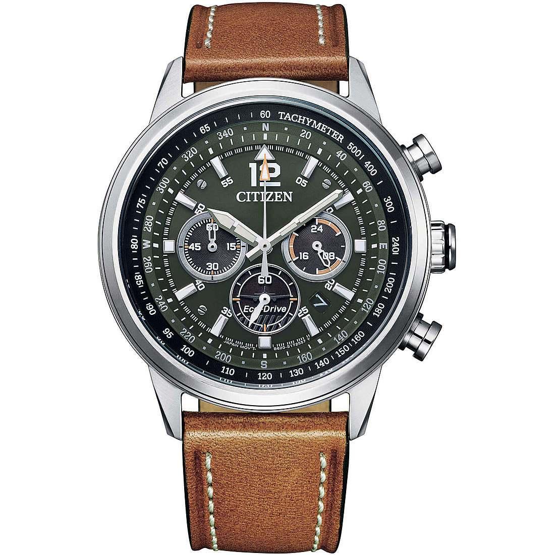 Orologio cronografo uomo citizen aviator ca4470 15x