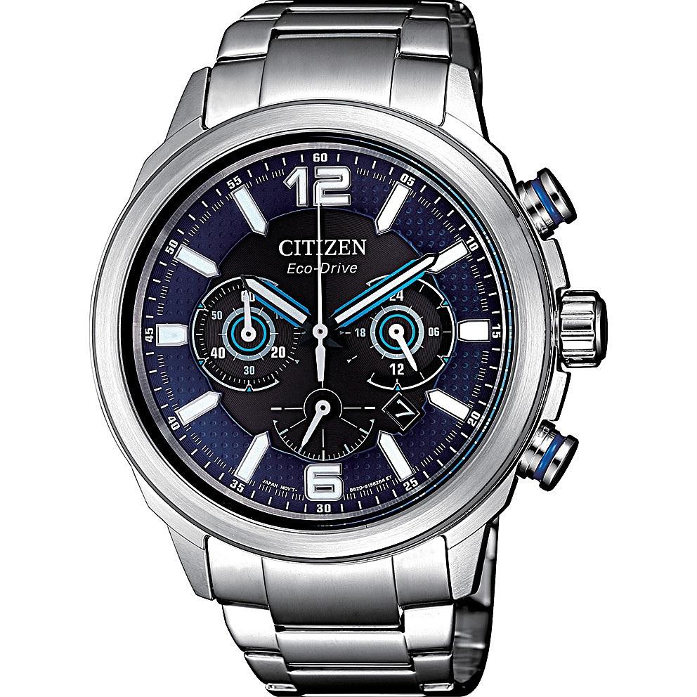 Orologio cronografo uomo citizen chrono racing ca4381 81e 244325