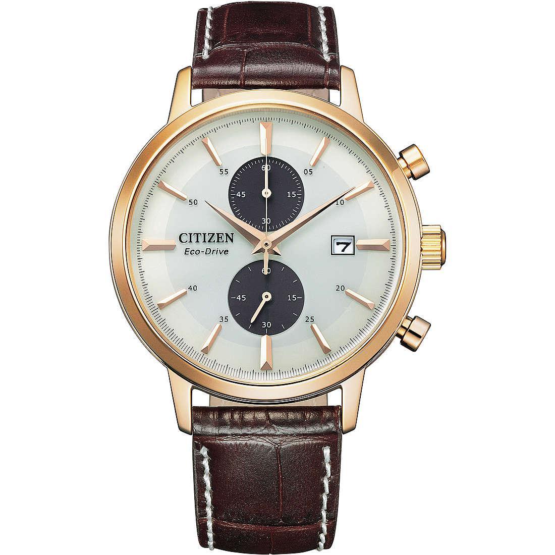 Orologio cronografo uomo citizen classic ca7063 12a