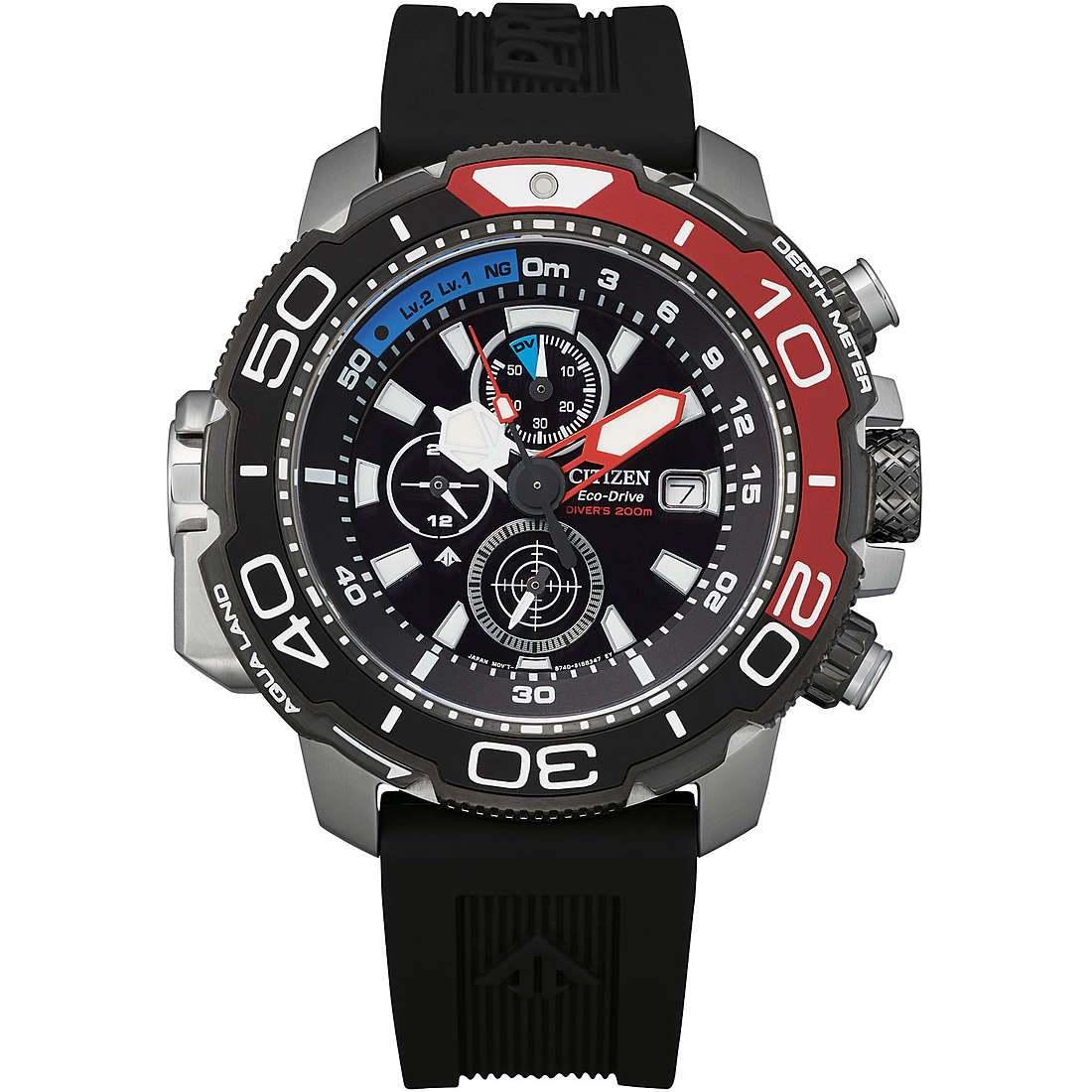 Orologio cronografo uomo citizen promaster bj2167 03e