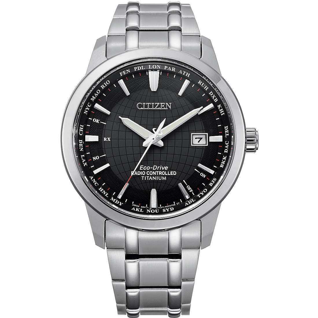 Orologio cronografo uomo citizen radio controllati cb0190 84e