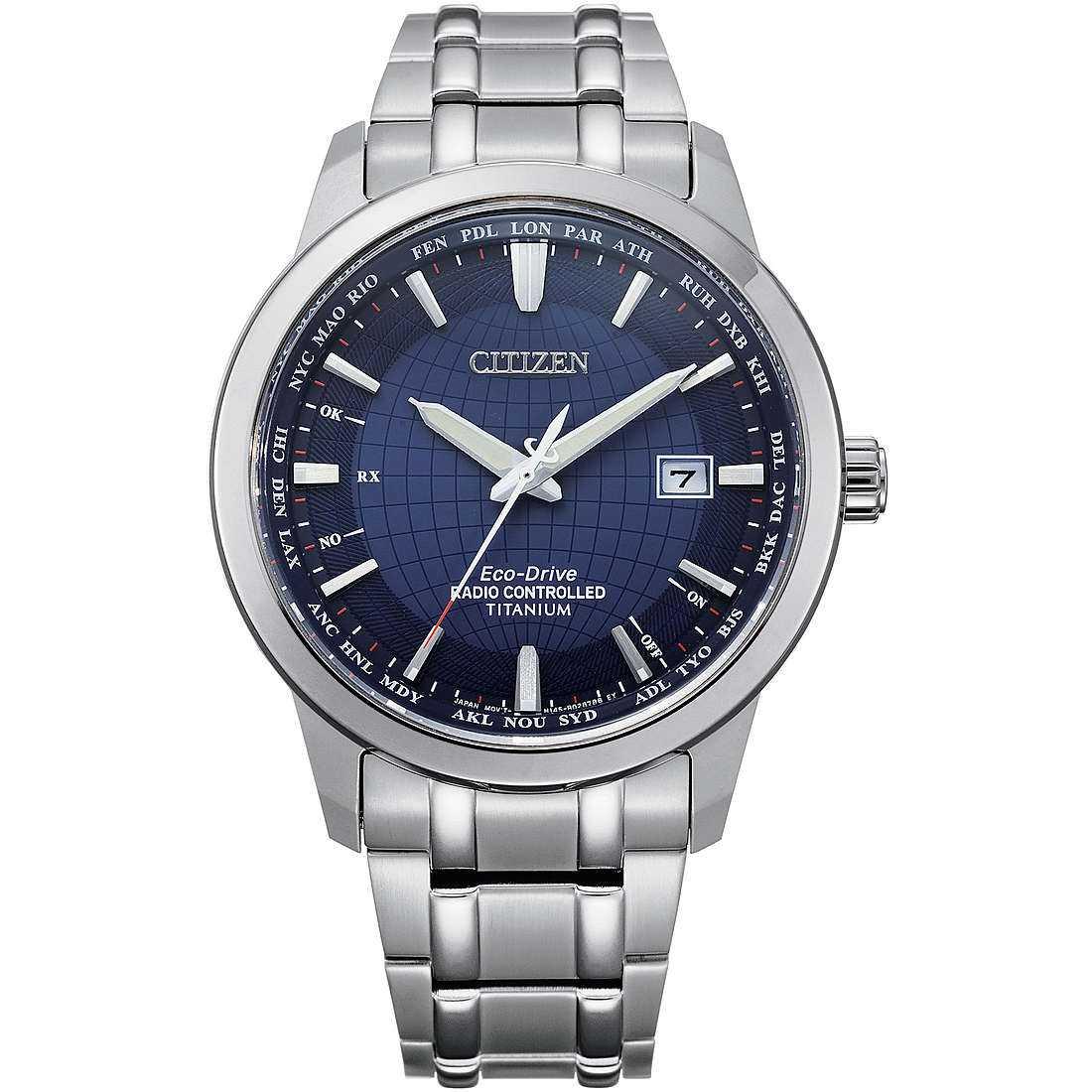 Orologio cronografo uomo citizen radio controllati cb0190 84l