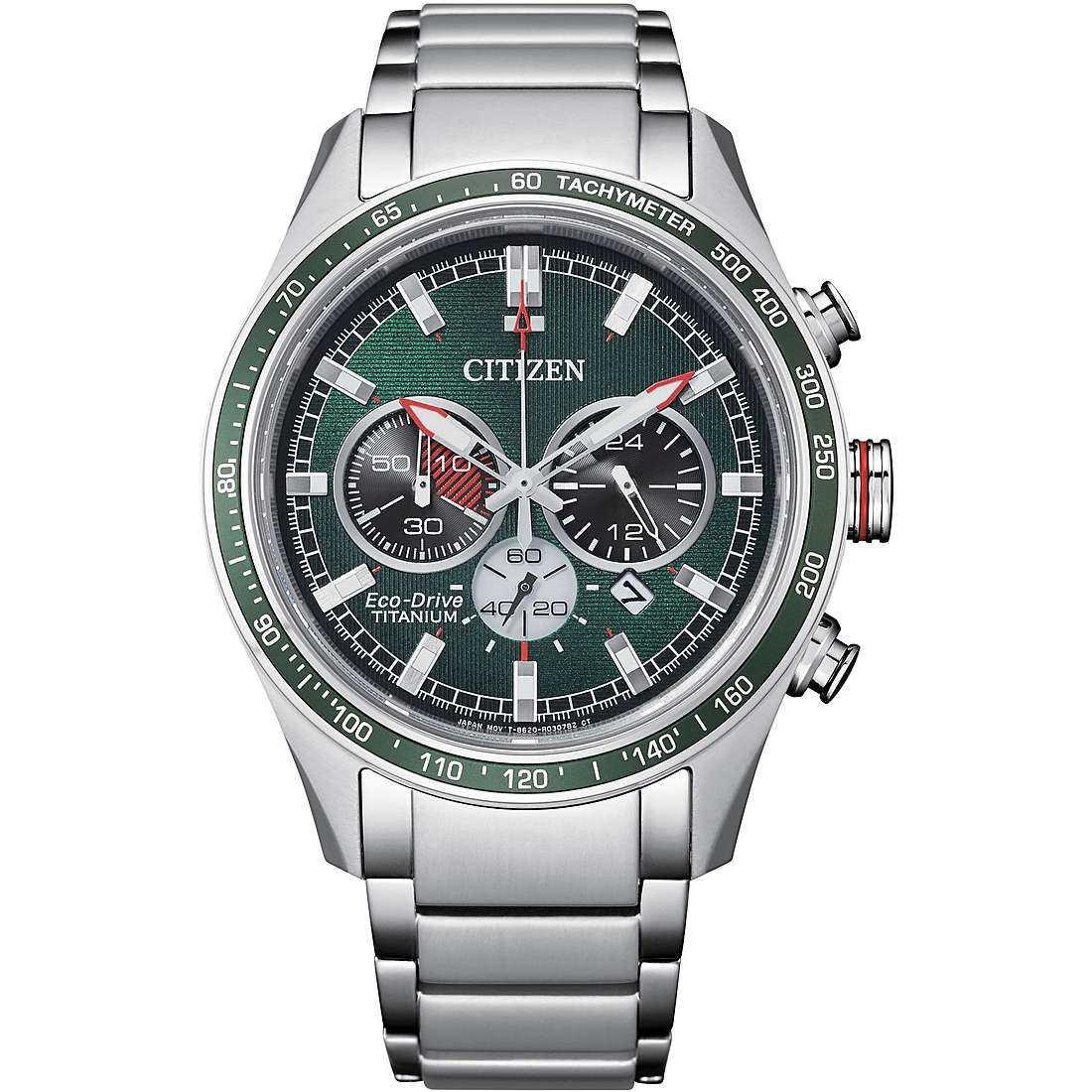 Orologio cronografo uomo citizen supertitanio ca4497 86x
