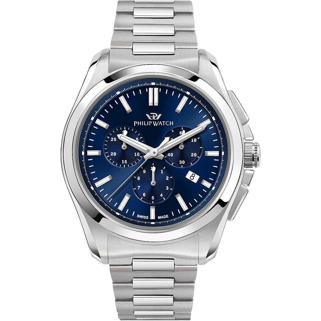 Orologio cronografo uomo philip watch r8273618002