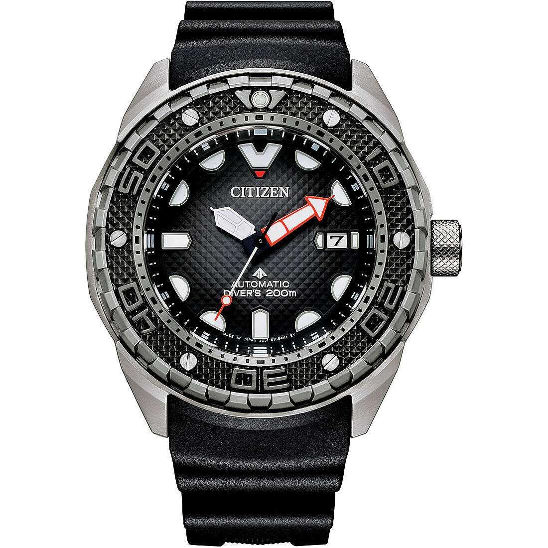 Orologio meccanico uomo citizen promaster nb6004 08e
