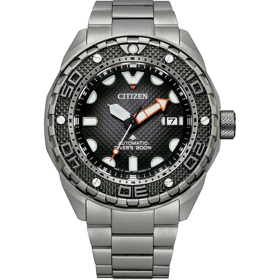 Orologio meccanico uomo citizen promaster nb6004 83e