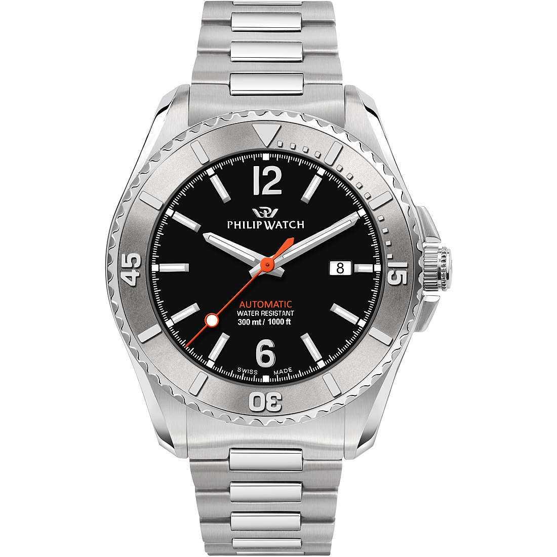Orologio meccanico uomo philip watch r8223218003
