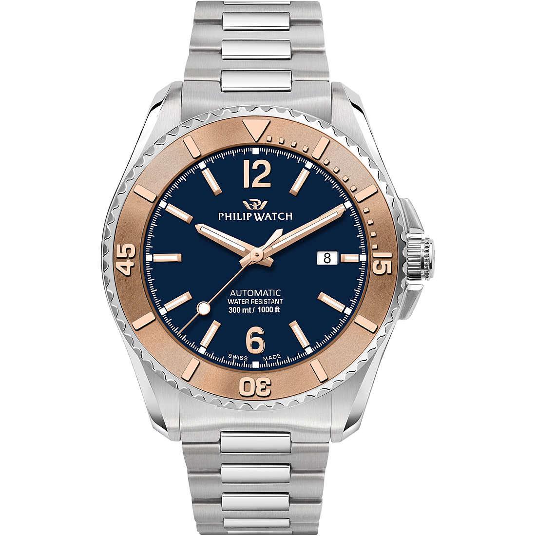 Orologio meccanico uomo philip watch r8223218004