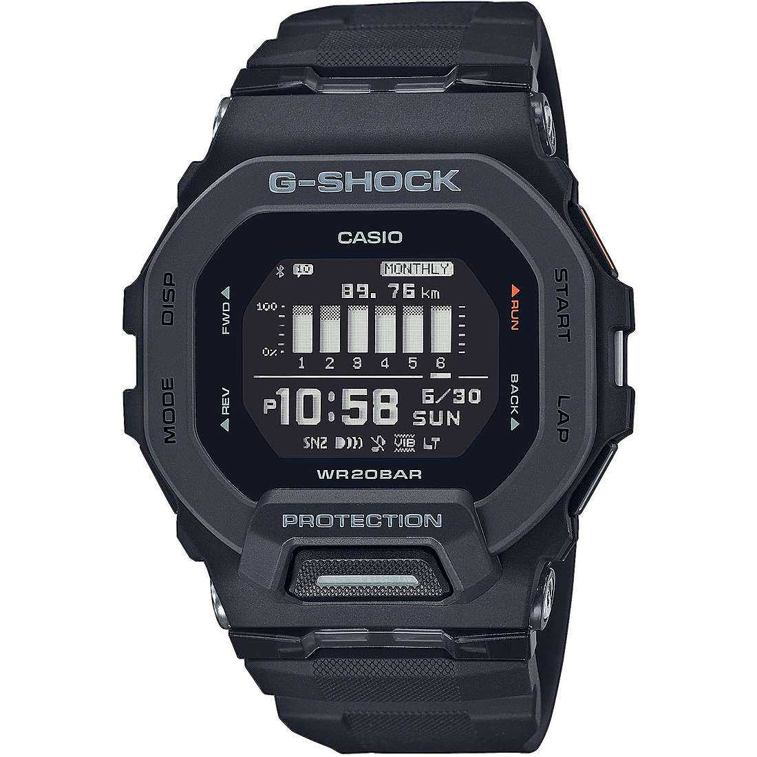 Orologio multifunzione uomo casio g shock g squad gbd 200 1er