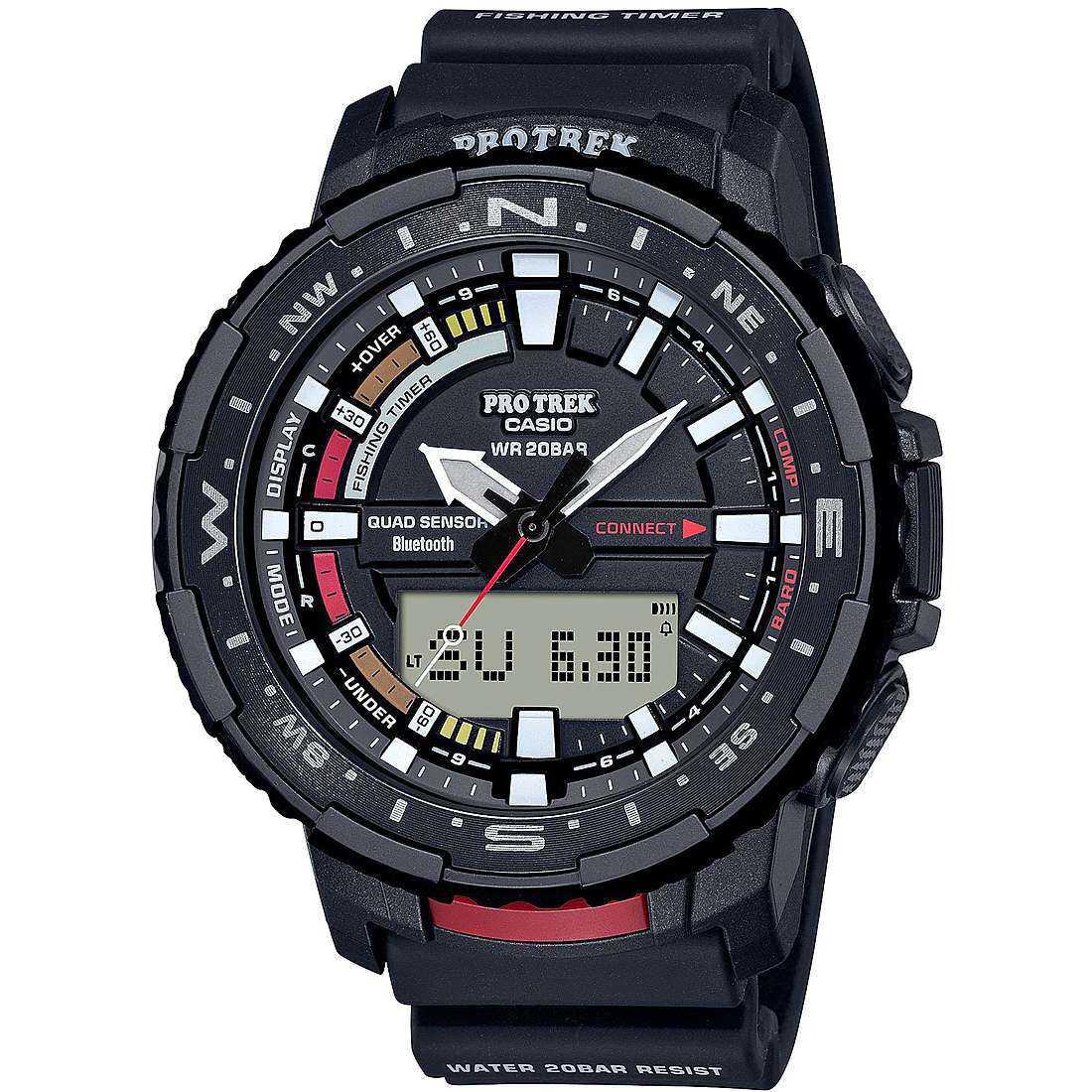 Orologio multifunzione uomo casio pro trek prt b70 1er